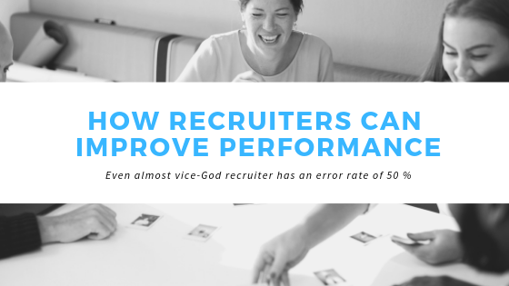 Recruiter Performance Blog